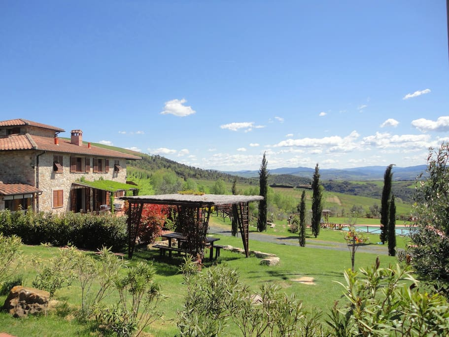 Romantic great tuscan house houses for rent in for Rent a house in tuscany