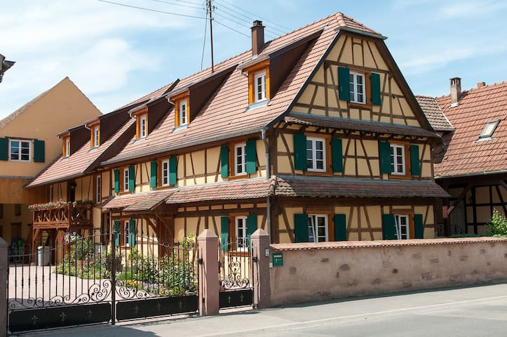 Cottage for 2 to 4 persons - Baldenheim - Huoneisto