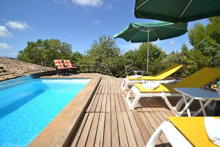 Majorca house with pool and wifi