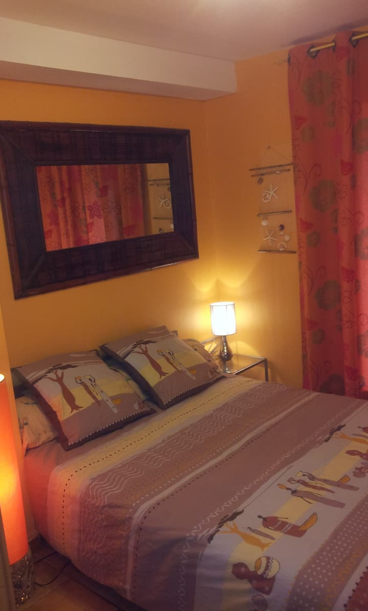 Chambre indépendante villa 2 pers Vacances & Pro