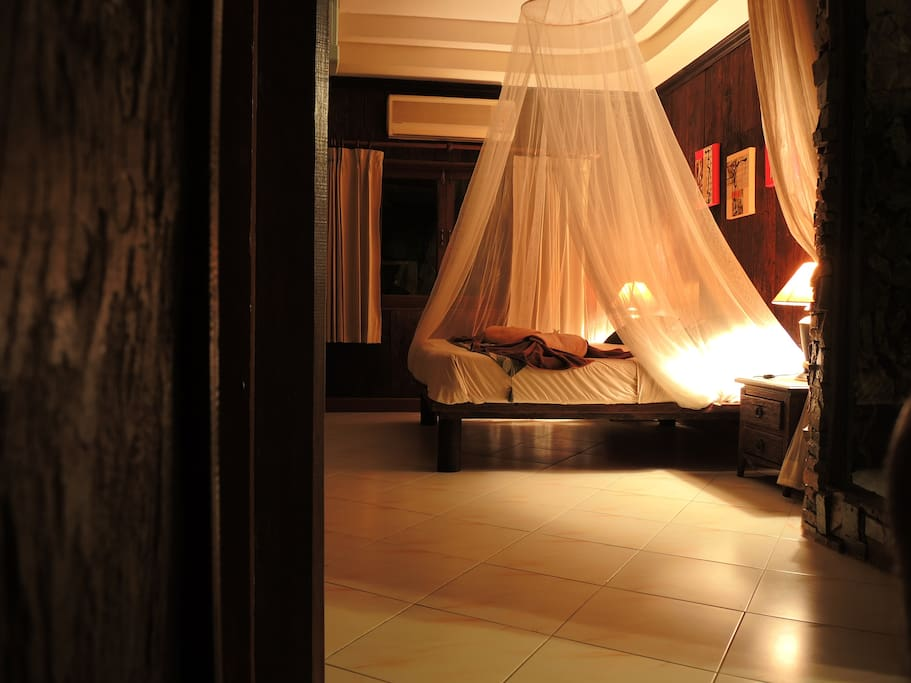 Bedroom for those who seeks a romantic feeling