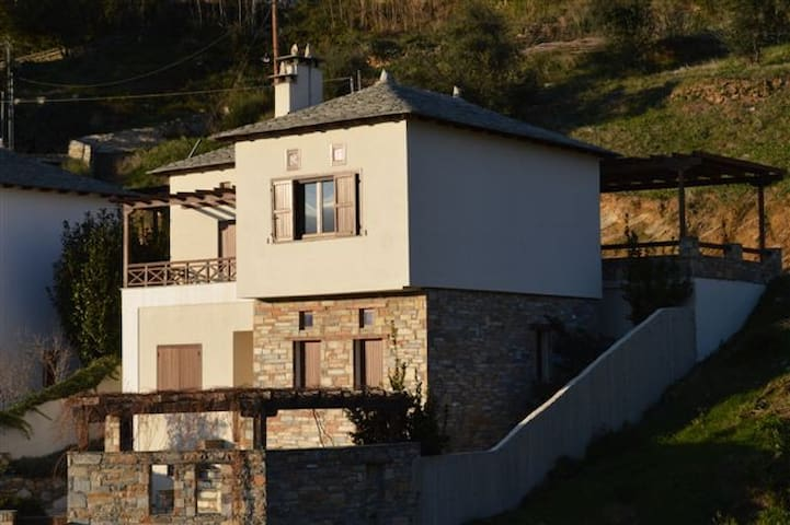 New Built Traditional Stone House - Agios Vlasios - Talo