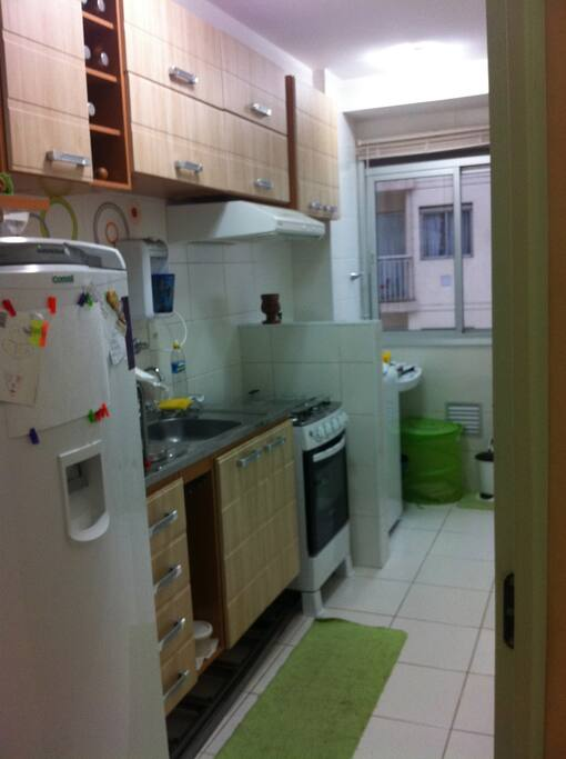 Complete kitchen and laundry