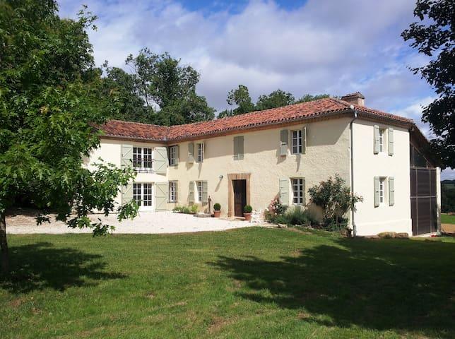 Spectacular Gascon farmhouse - Estipouy - Casa