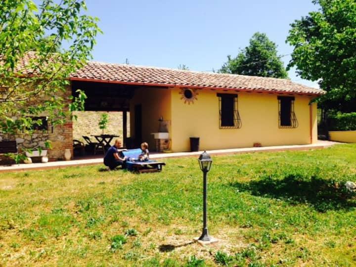 Accogliente villa a 50 km da Roma