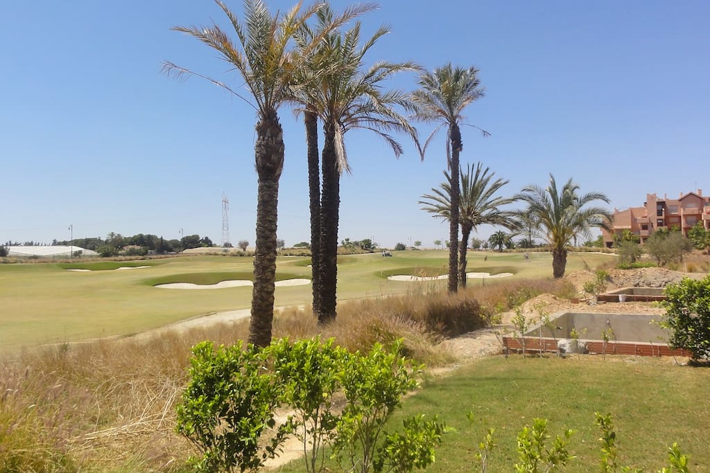 Outside view looking over 10th Green