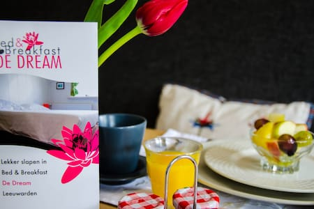 Lekker slapen in B&B de Dream - Leeuwarden - Bed & Breakfast