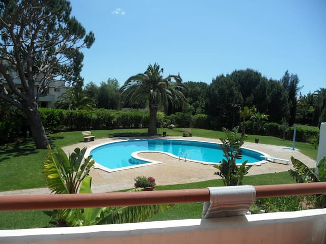 T1 in Vilamoura (pool+garden) - Vilamoura - Apartment