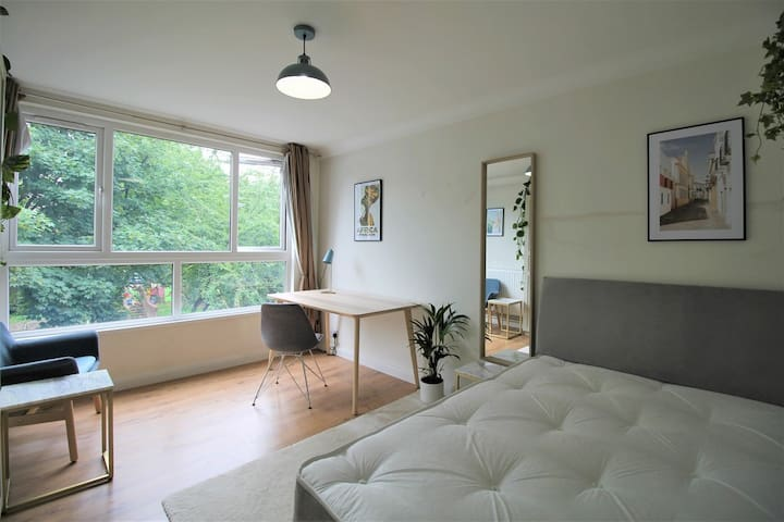 Large private room in Shoreditch apartment