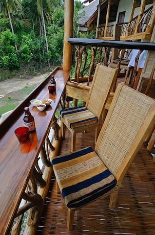 Kalachuchi Beach resort restaurant