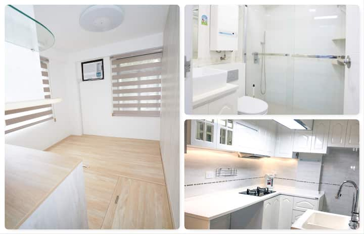 Newly Redecorated Flat Near East Railway Station