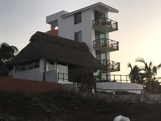 Beachfront Condo in Careyeros Punta Mita