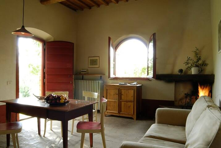 Cozy house in organic farm - Montaione - Flat