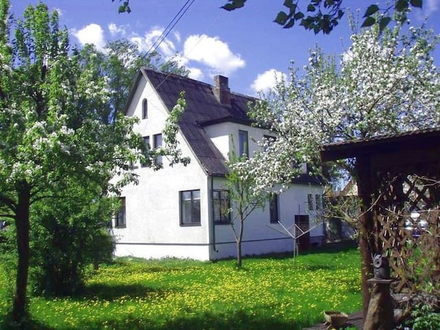 House with garden 400m from beach - Pärnu - Huis