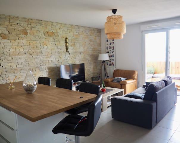 Appartement Cosy et lumineux proche Bordeaux