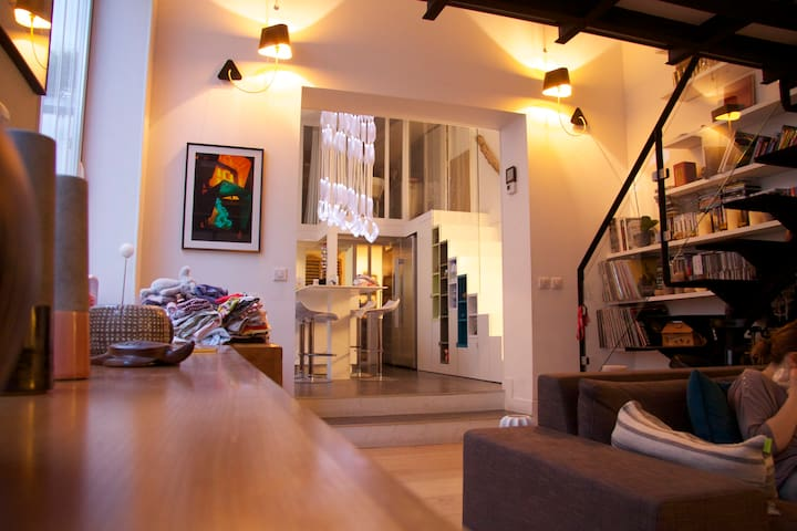 Lovely loft in trendy neighbourhood - París - Loft