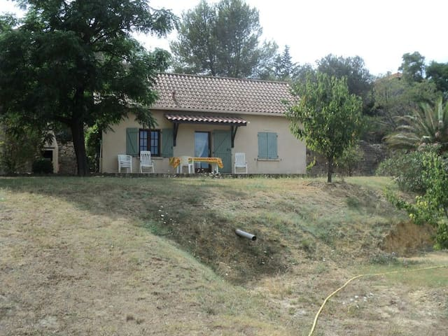 maison au calme pour 4/6p, 20mn mer - Saint-Pons-de-Mauchiens - Casa