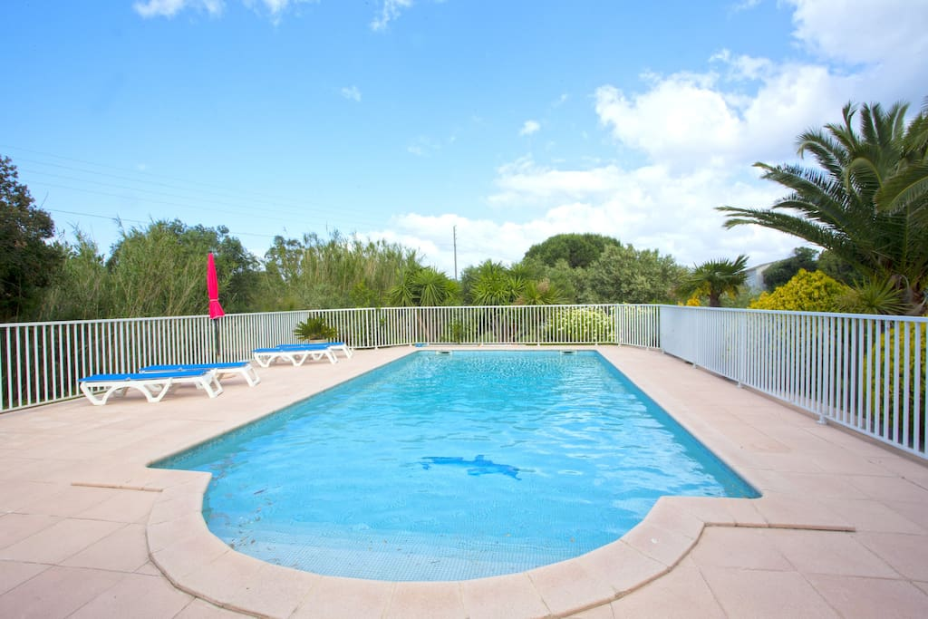 Room Close To Beach Swimming Pool Houses For Rent In Farinole Corsica France
