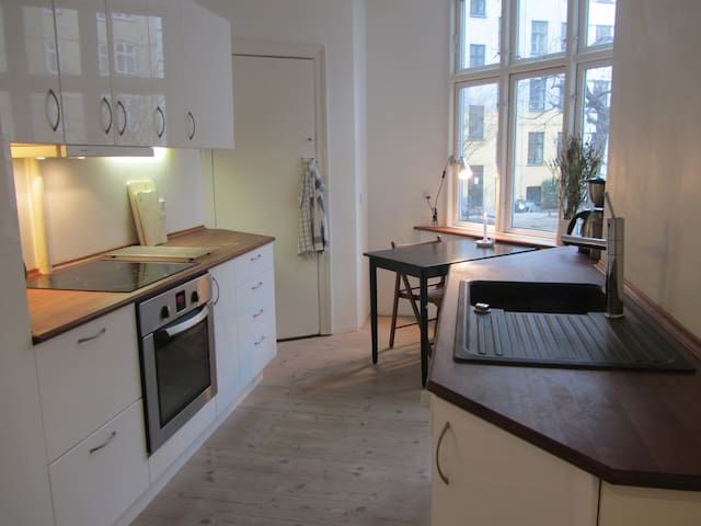 Spacious apartment on Vesterbro