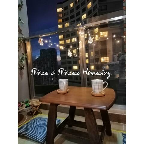 Morning Good days start with coffee and you ☕ Night  End the days with your lover at our balcony enjoy night of city and thousands star on the sky 一起与妳边喝边抬头望看看数数有几颗星星你就是我的superstar