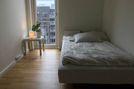 Room in new modern apartment. Bicycles included - Copenhague