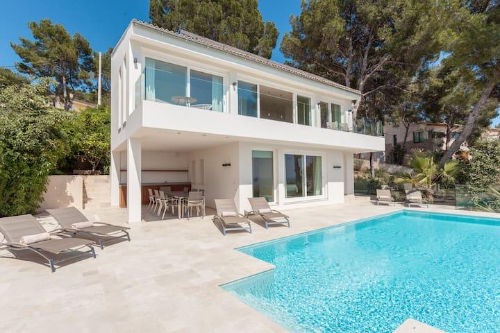 modern villa with a sea view - Portals Nous, Calvia - Talo