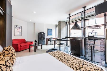 Apartamento tipo Suite en Santa Bárbara - Bogotá - Huoneisto