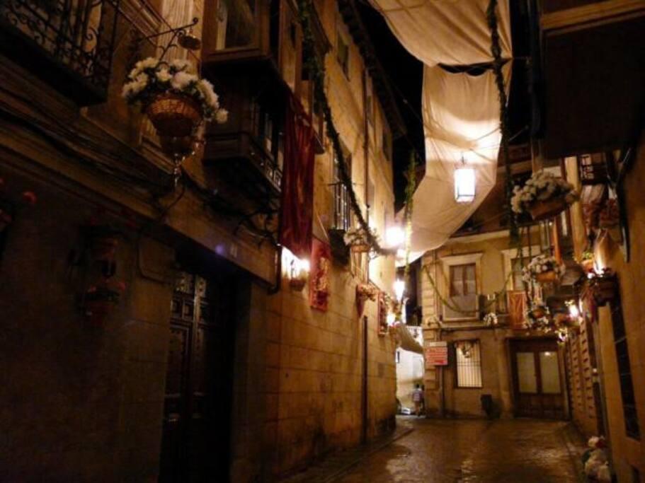 La magia de Toledo nocturno