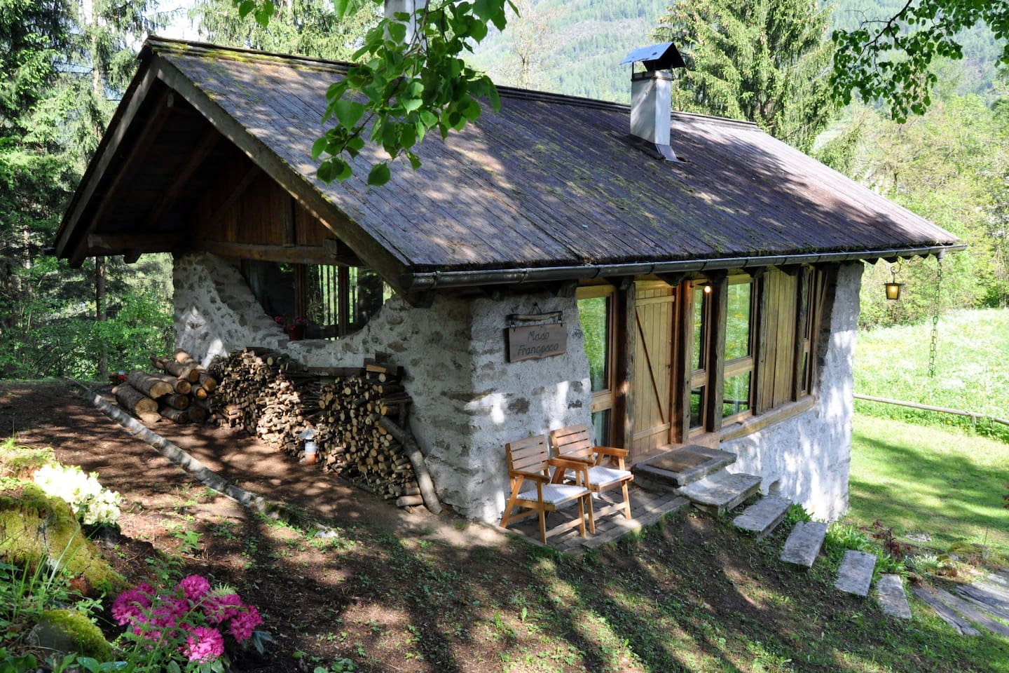 cottage in north italy chalets for rent in terzolas trentino