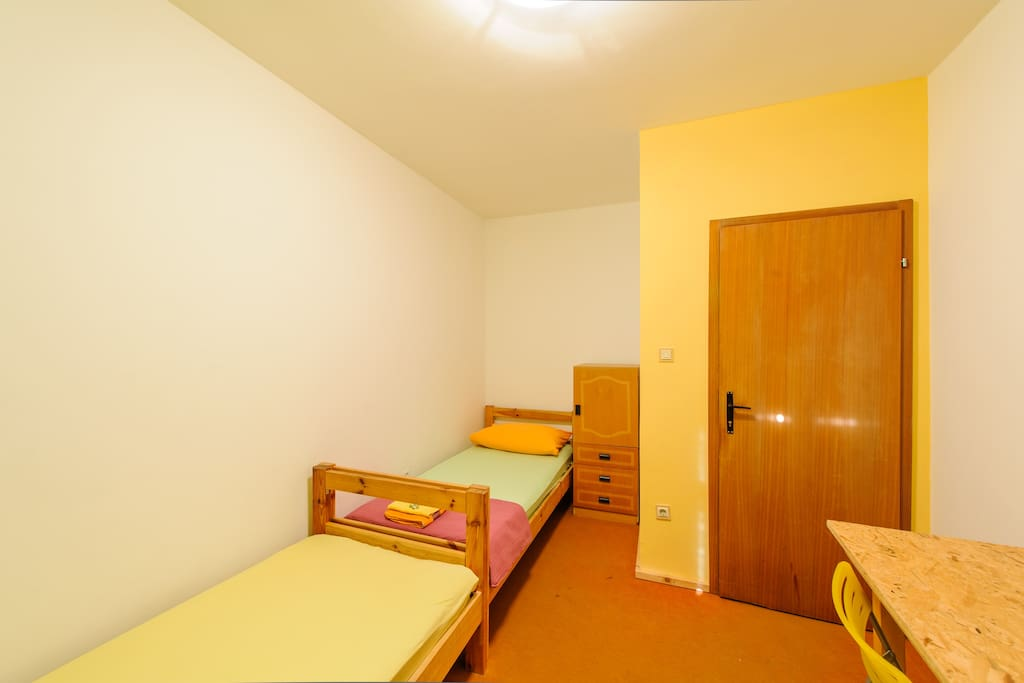 3) Twin or Double Room