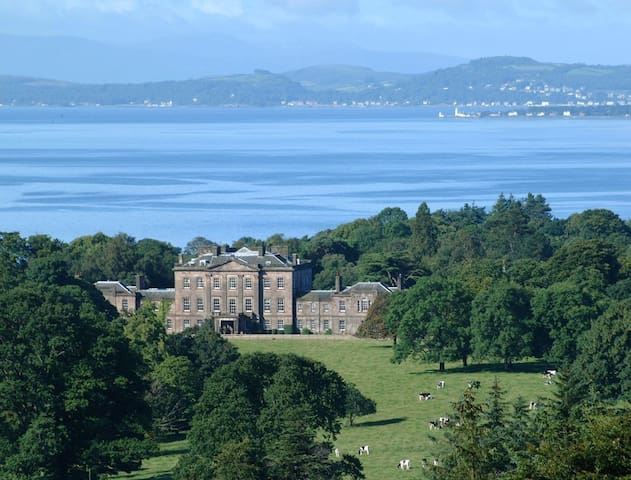 Ardgowan House-Lady Octavia Room - Inverkip - Bed & Breakfast