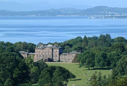 Ardgowan House-Springkell Room - Inverkip - Bed & Breakfast