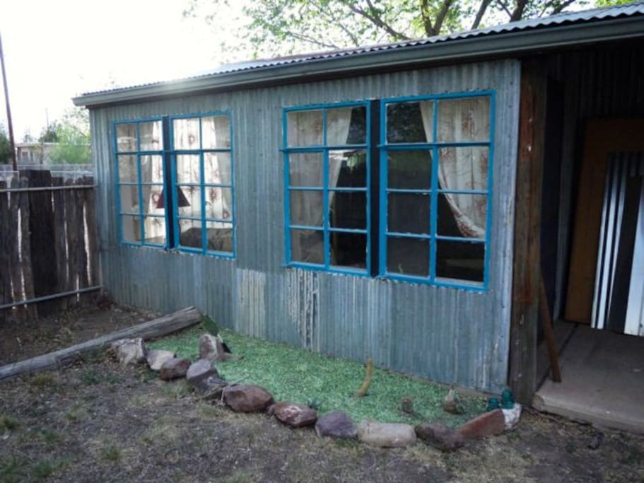 rustic outside features
