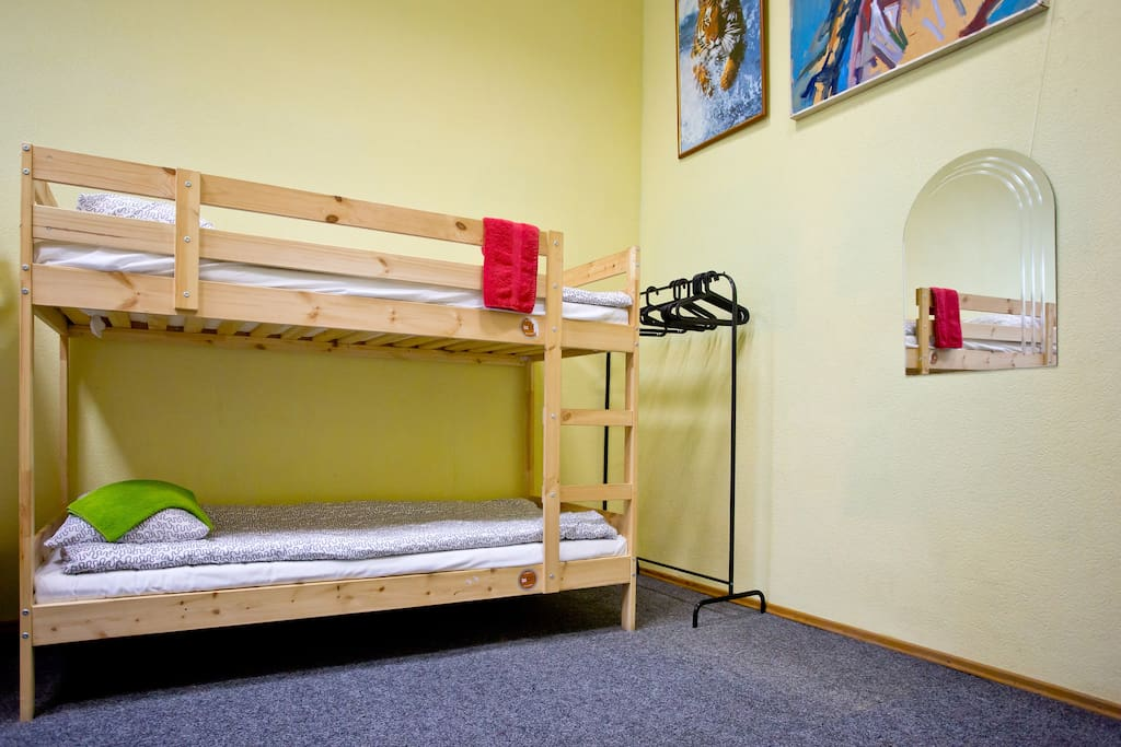 Dorm with 12 beds