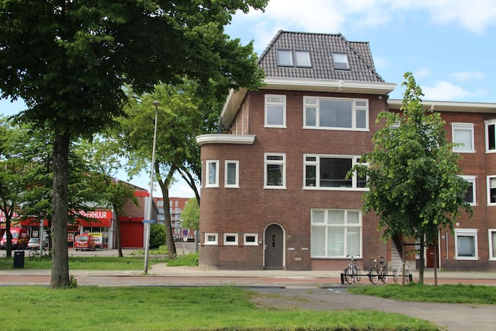 Modern&bright serviced penthouse apartment Utrecht