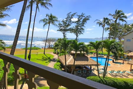 New Listing! Top Floor Beautiful Ocean View Studio - Kapaa - Condominium
