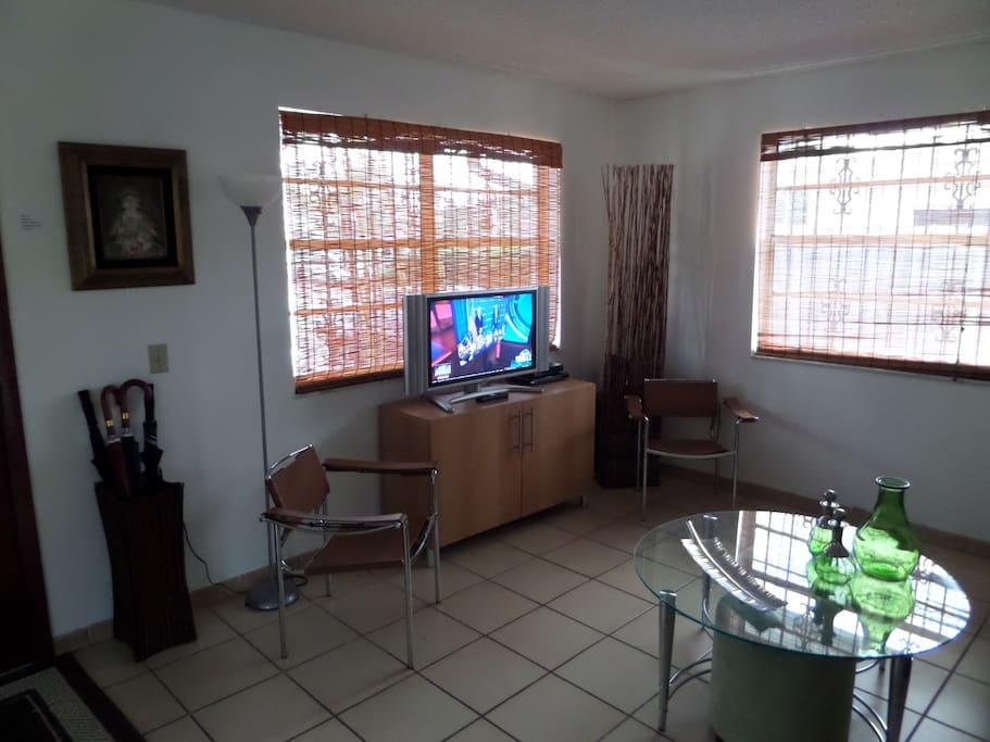 "Living Room 32"" Flat Screen TV"