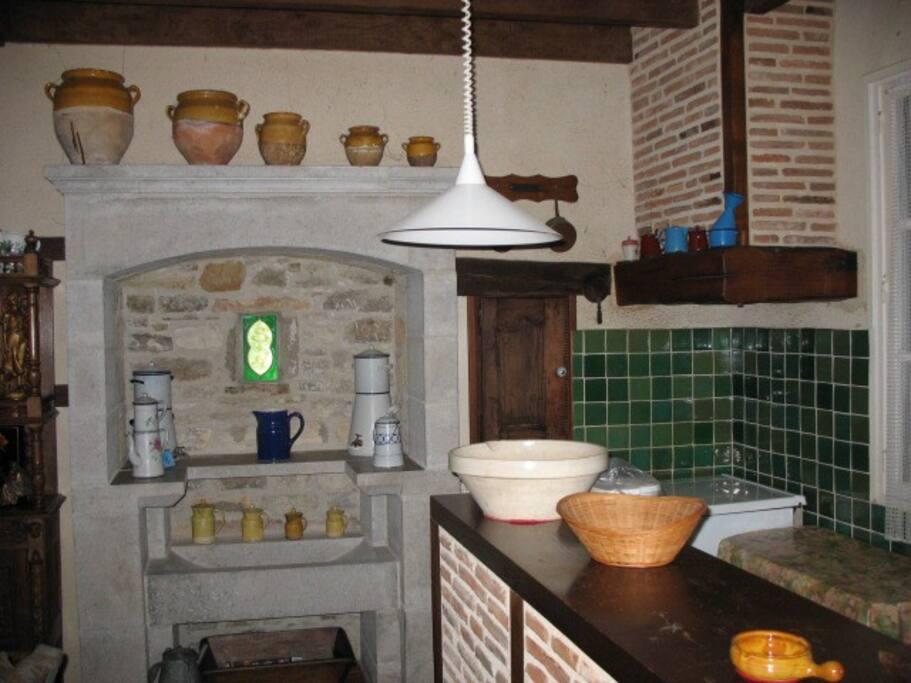 Souillarde et coin cuisine