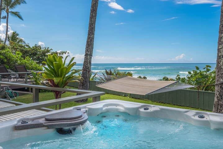 * North Shore Laniakea Beach House