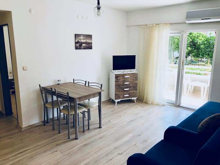 1+1 Family Apartment with a Bedroom (G.Floor No 2)