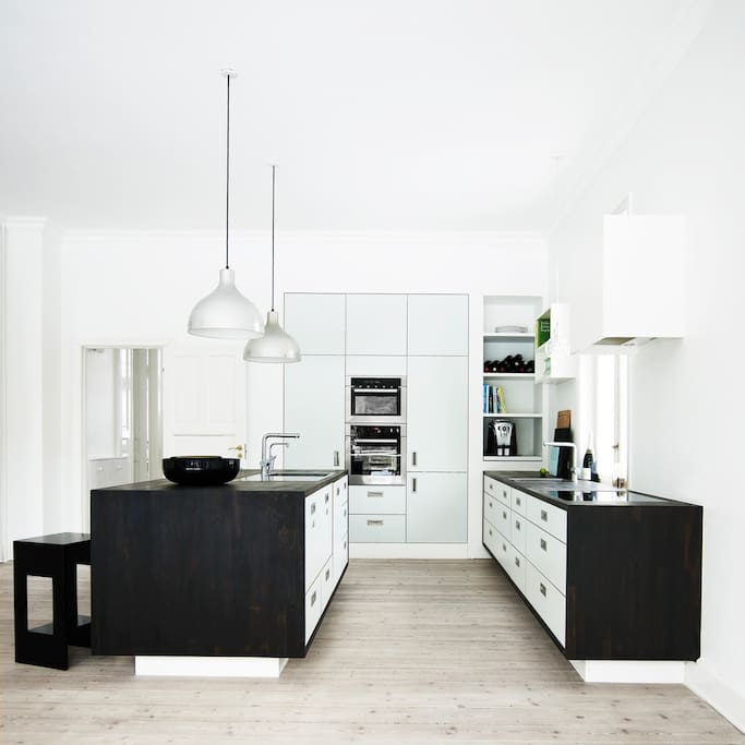 Kitchen - space and well equipped