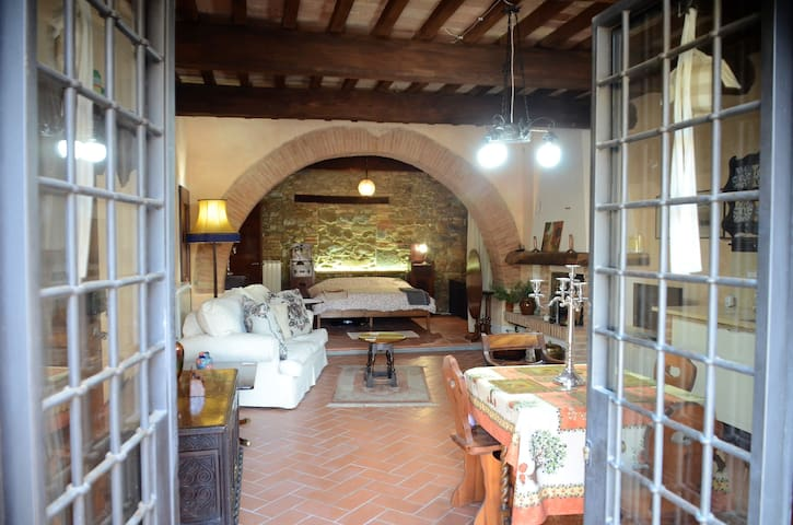 A Cosy Apartment in a Medieval Italian Village