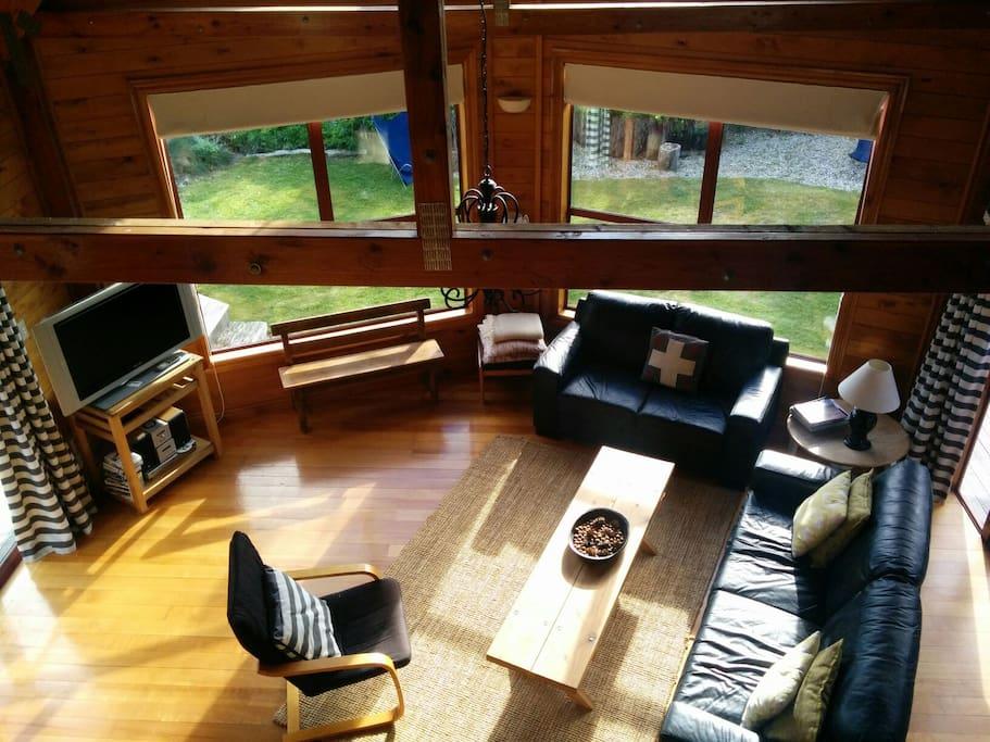 lake ski chalet with sauna chalets louer wanaka. Black Bedroom Furniture Sets. Home Design Ideas