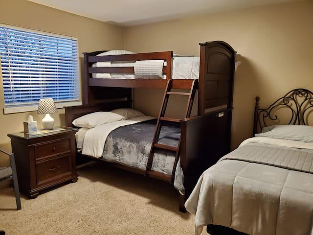 Second Bedroom with Cozy Comforters
