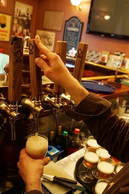 Visit Ljubljana's amusing beer venues