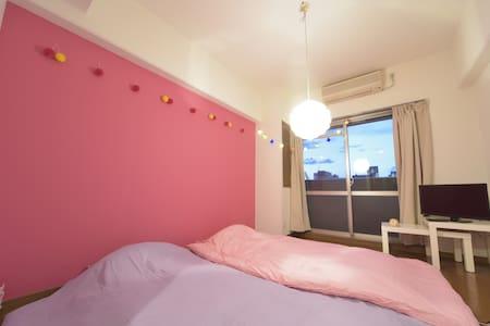 New!!ピンクや紫で原宿系をイメージした イカしたお部屋!(^^)!#SSL1002 - Nishi-ku, Ōsaka-shi - Pis