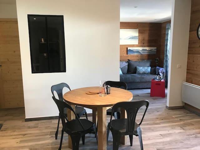 Arêches un peu..! Appartement jusqu'à 4 personnes!