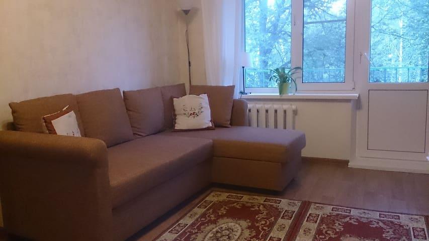 уютная 2-х комнатная квартира Горки-2