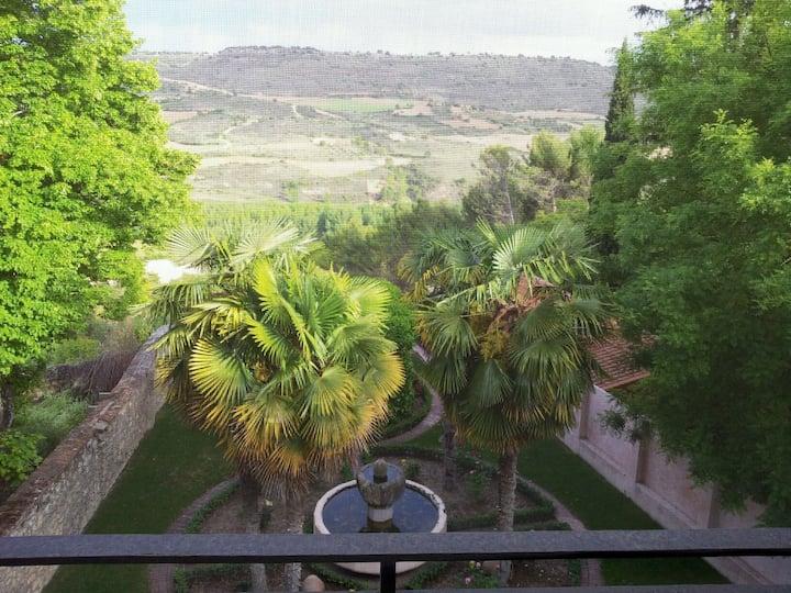 Coqueto apartamento con vistas en Brihuega