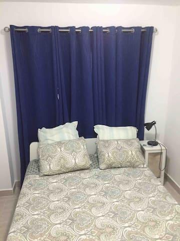 Segunda habitación con aire acondicionado